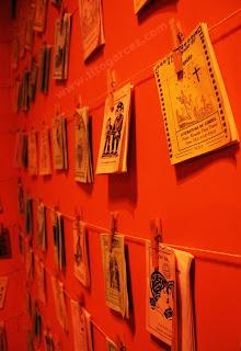 Livretos da Literatura de Cordel, no Museu da Gente Sergipana, em Aracaju - Sergipe