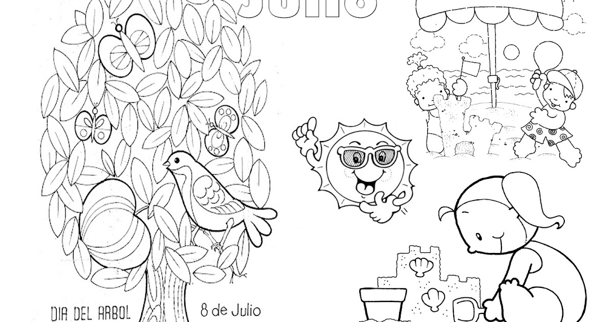 Atractivo Para Colorear El 4 De Julio Embellecimiento - Dibujos Para ...