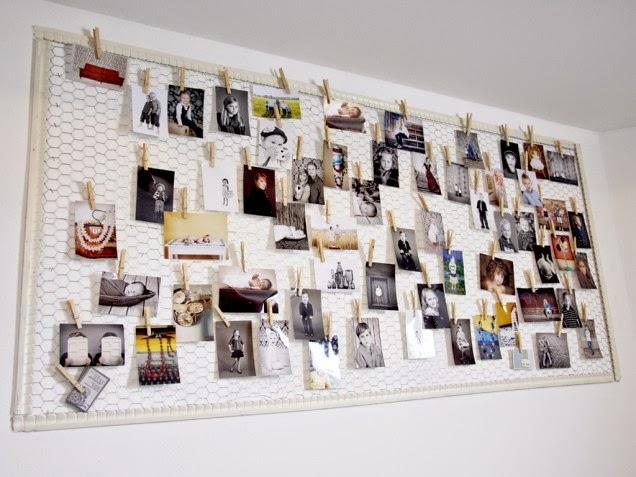 Diy fotowand designaresse - Habitaciones juveniles originales ...