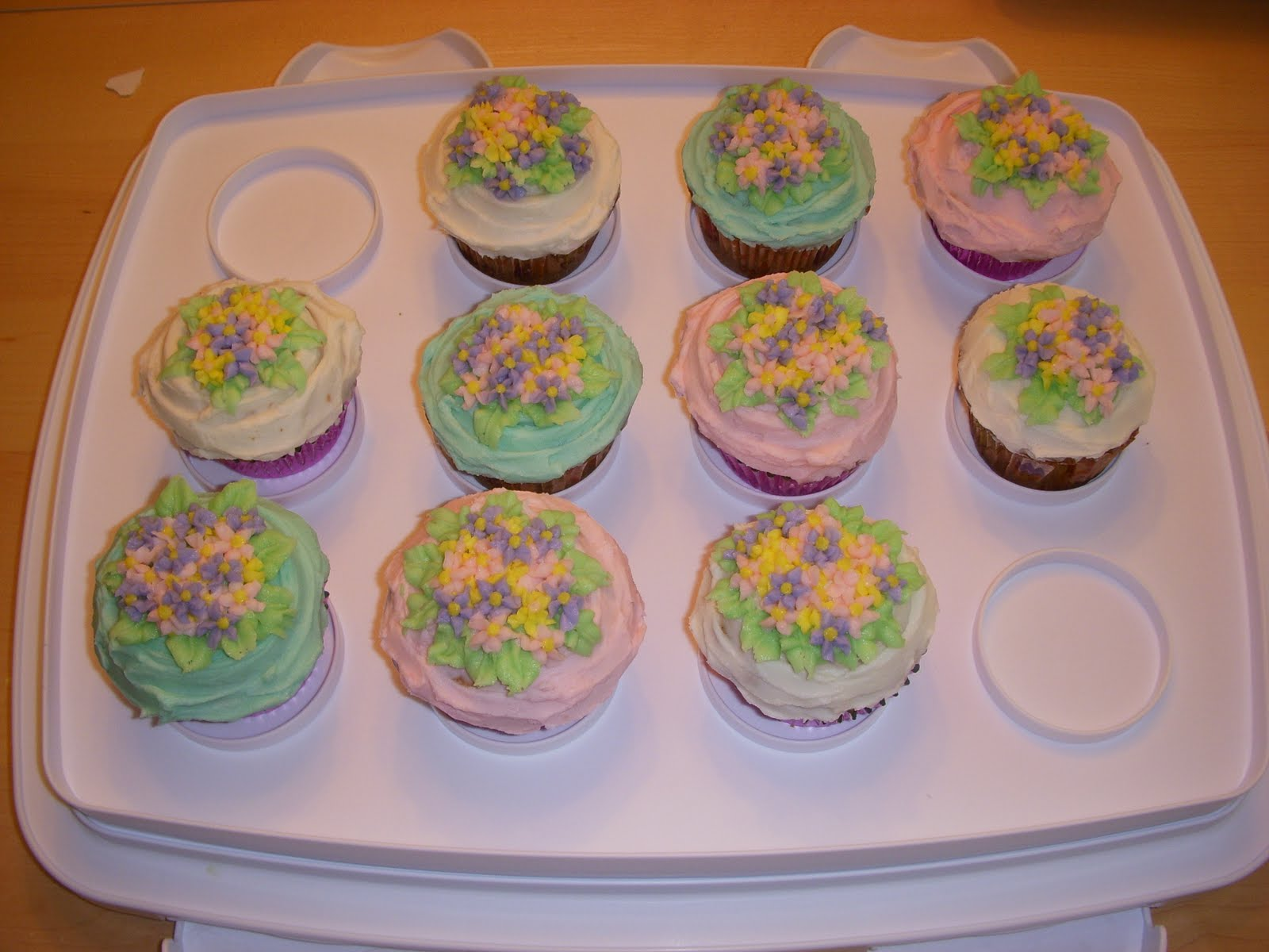 Brings May Flowers... cupcakes that is. Making Memories