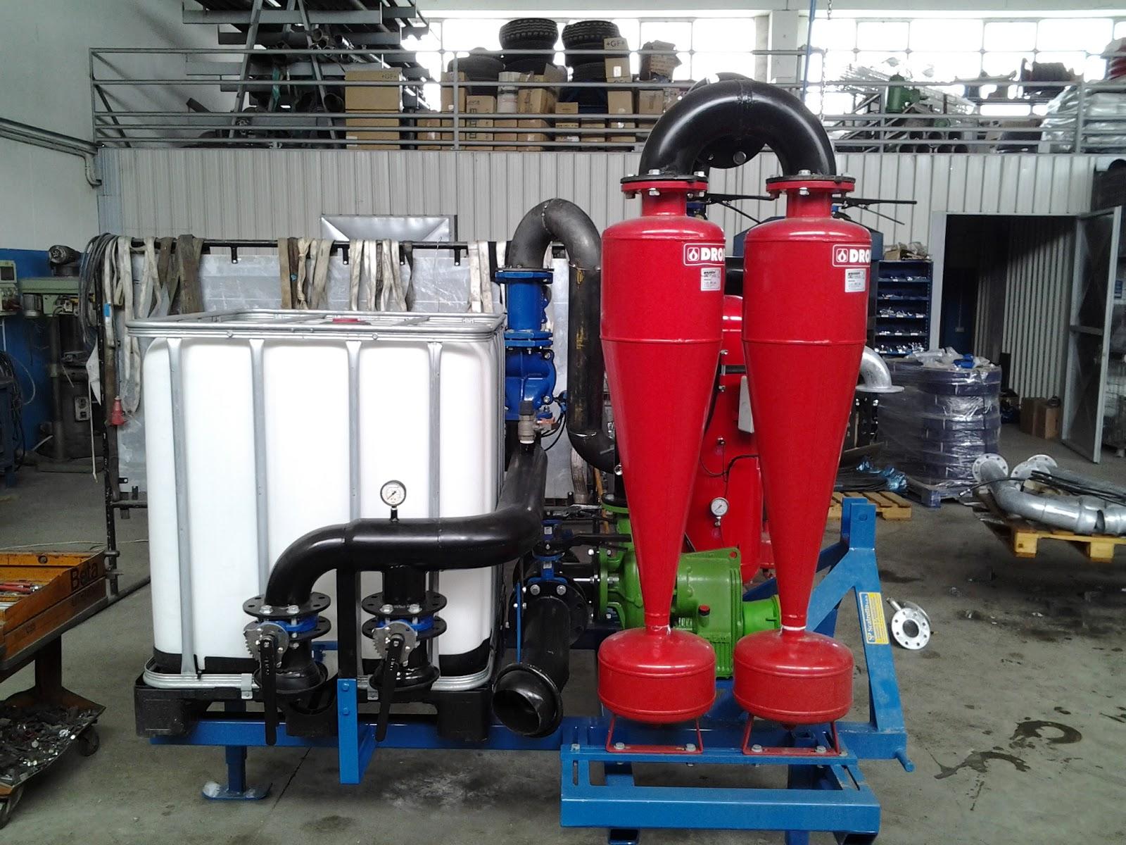 Irrigazione a goccia microirrigazione e fertirrigazione for Idrociclone per sabbia usato