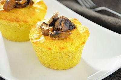 Sformatini di patate e funghi