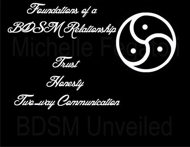 BDSM Relationship Foundations