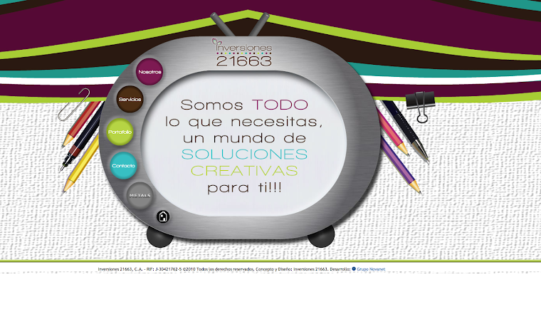 WEB SITE Inversiones 21663