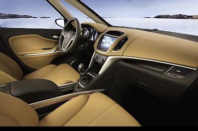 Opel Zafira Tourer Interior
