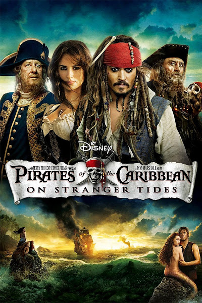 Poster Of Pirates of the Caribbean On Stranger Tides 2011 720p Hindi BRRip Dual audio