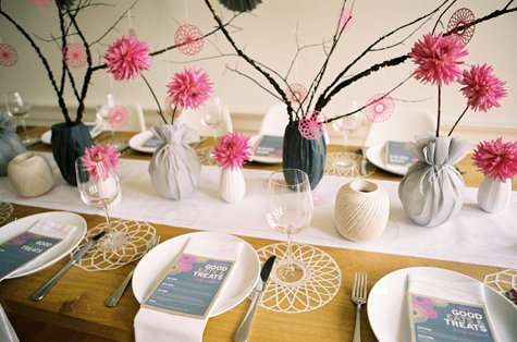 Orchidee Fleur Coupee Decoration Table