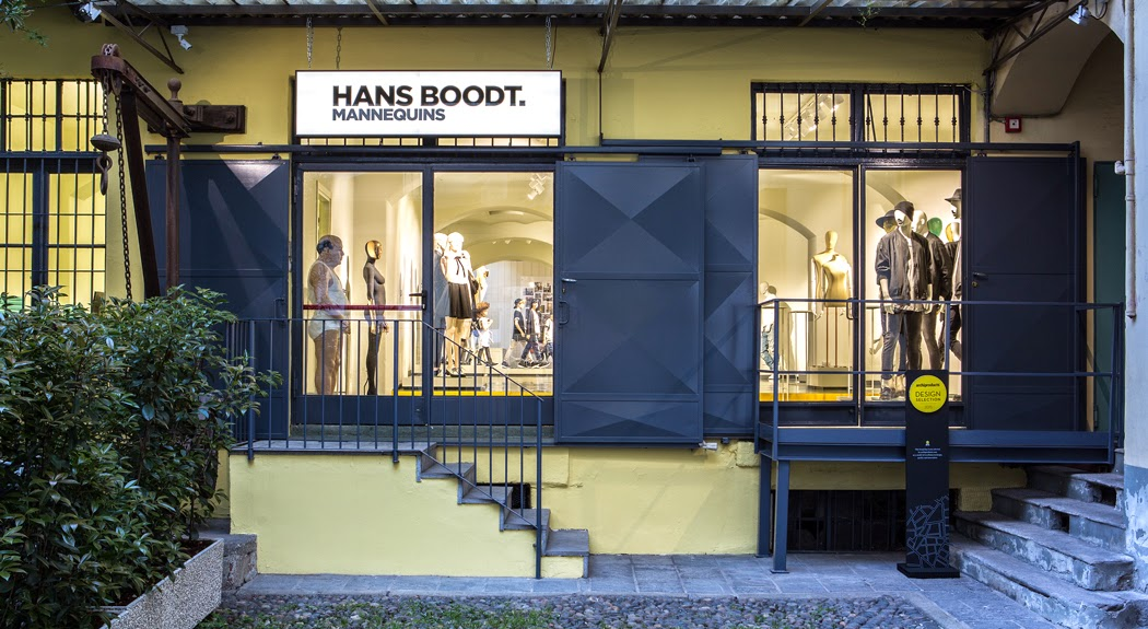 Hans Boodt, miniquies, Showroom, Milan
