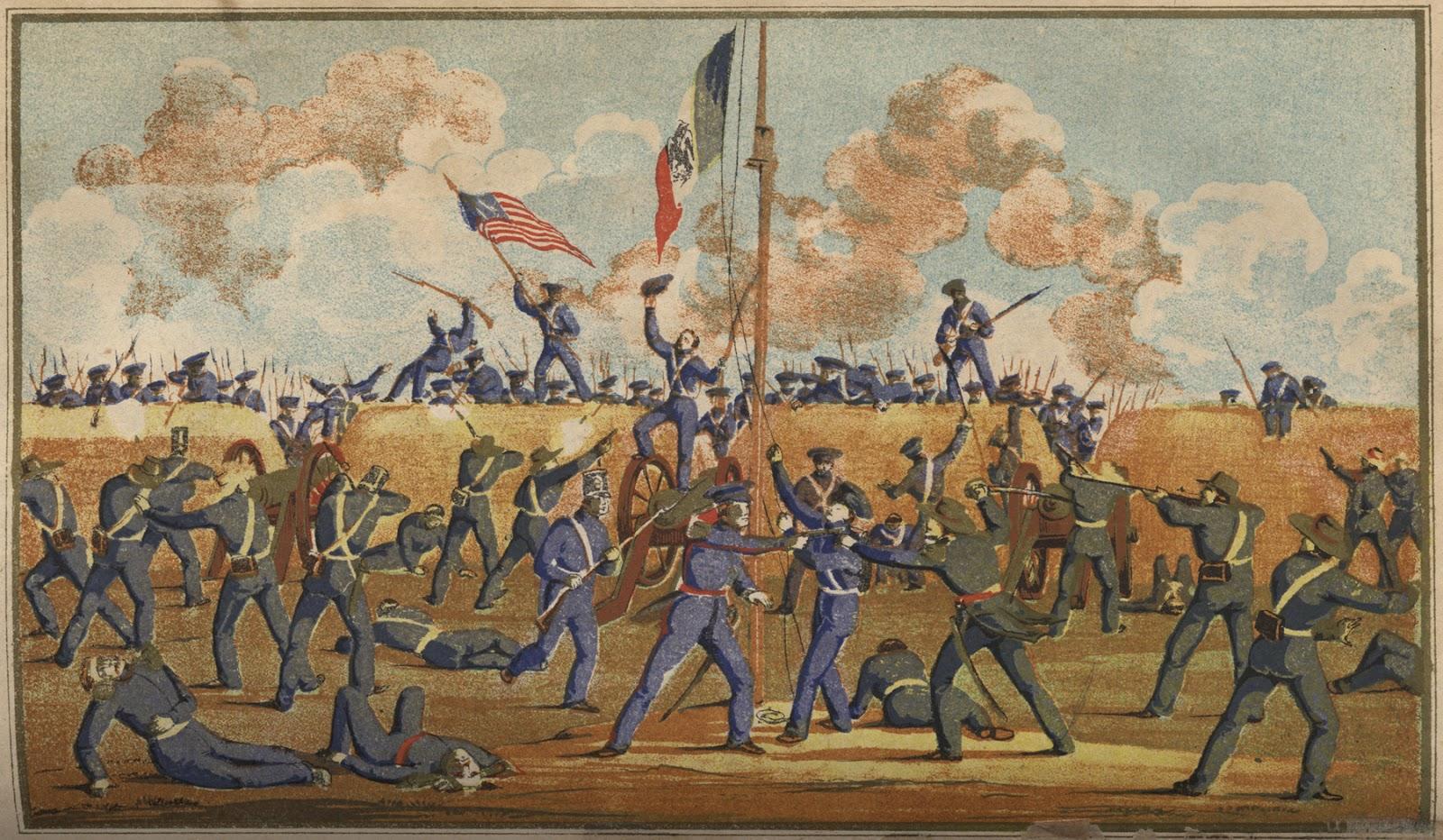 on this cinco de mayo let us remember the invasion estadounidense a mexico