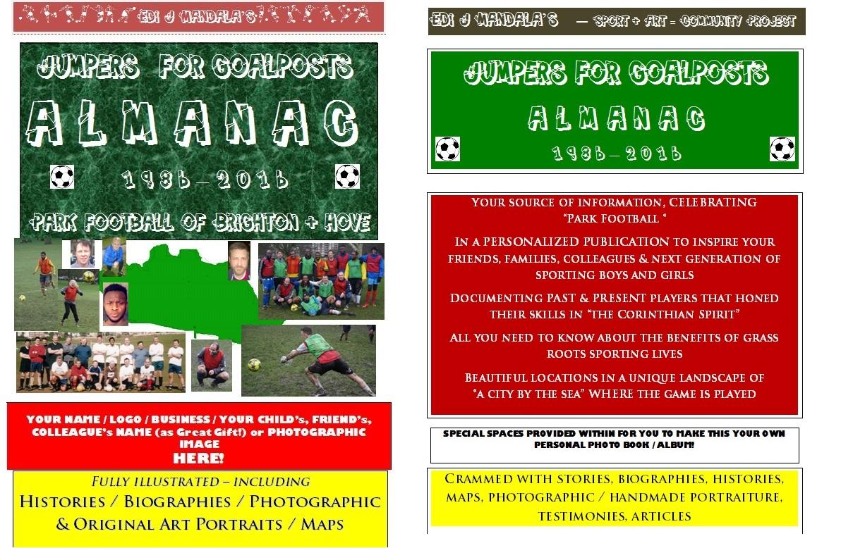 """""""Jumpers For Goalposts"""" Almanac"""