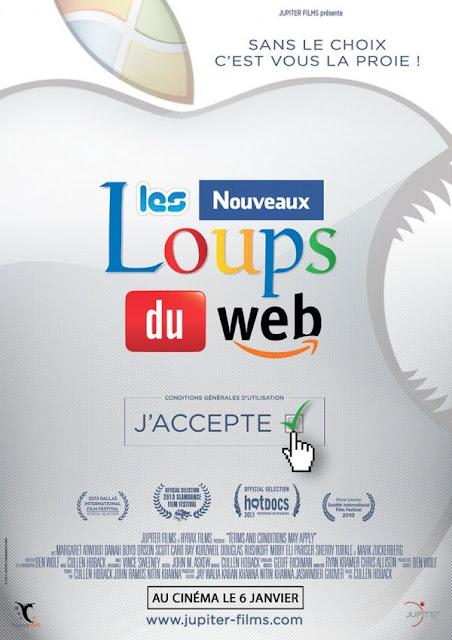 Les Nouveaux Loups du Web - la critique du film Quand les géants du web nous épient
