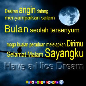 Selamat malam, kami Ucapkan Untuk anda. Semoga Anda selalu berbahagia ...