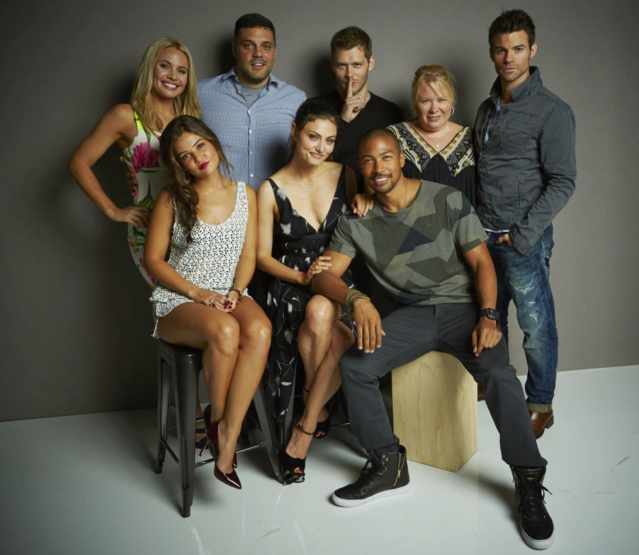 Cast of 'The Originals' promote the series at Comic-Con 2014