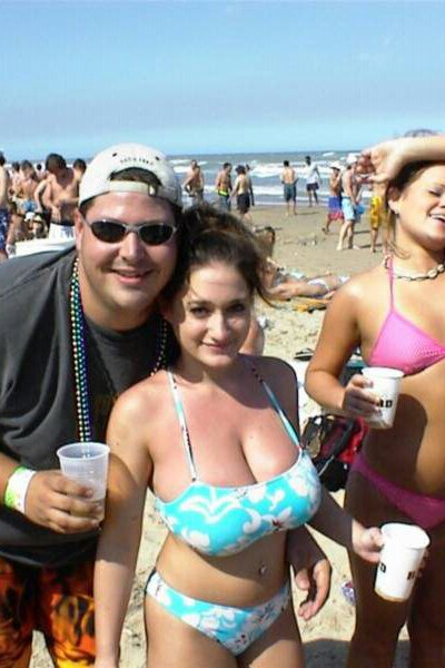Spring break big tits