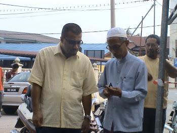 Bersama YBM Dato' Syed Omar Abdul Kadir Al Idrus