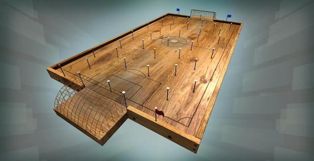 Çivili Tahta Futbol Oyunu - androidAcini
