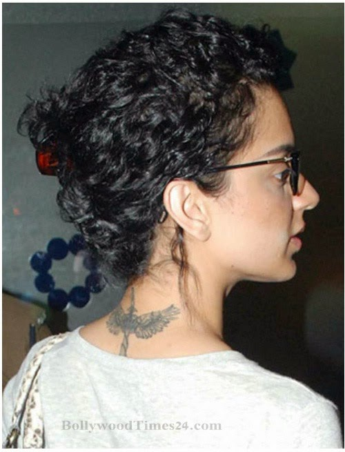 Kangna Ranaut  Tattoo