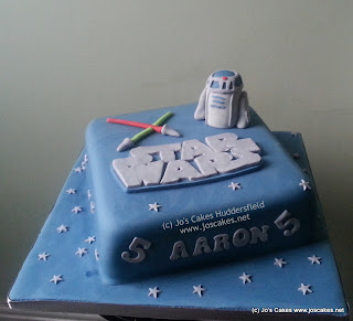 Aaron and his friend s loved the cake which is always nice to hear