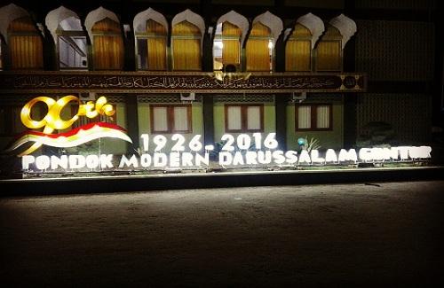 Lampion 90 Tahun Pondok Gontor