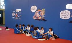 Chicos sueltos en la Feria del Libro ( Bs As)
