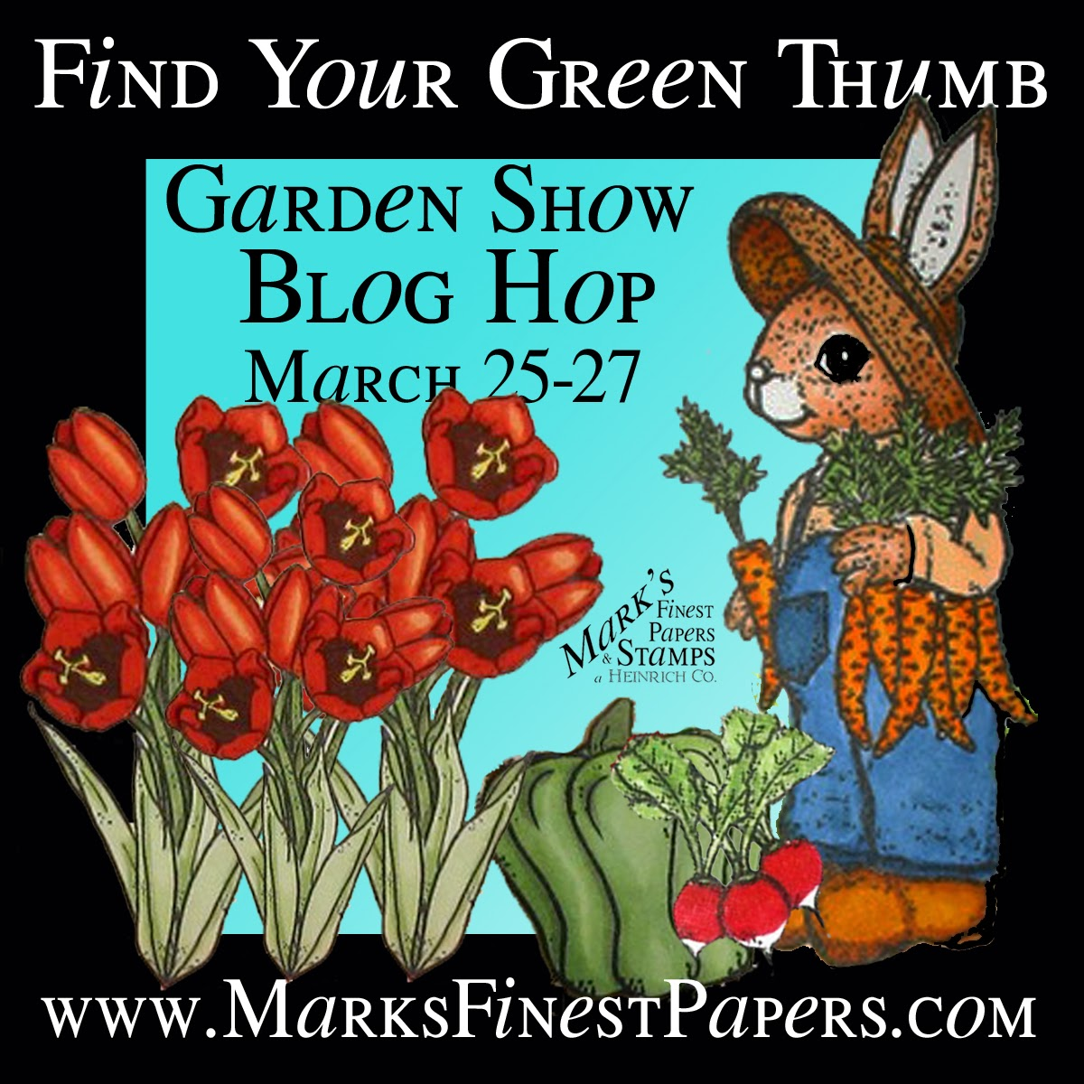 MFP Garden Show Blog Hop - March 25-27