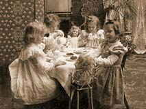 Sweethearts Of The West Etiquette For The Victorian Child