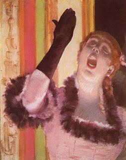 Café Singer Edgar Degas