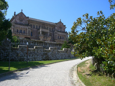 Sobrellano Palace in Comillas
