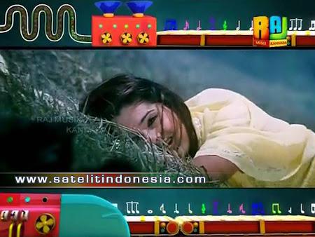 Raj Music Kannada channel parabola fta terbaru