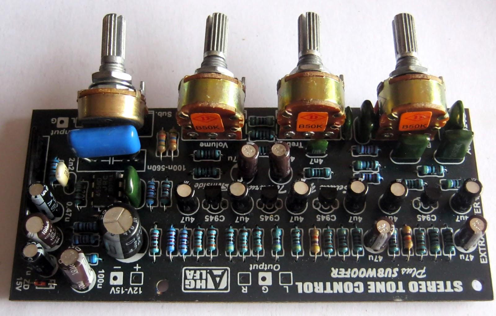 Harga tone control parametrik – Industrial electronic ...