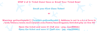 Email Save Ticket