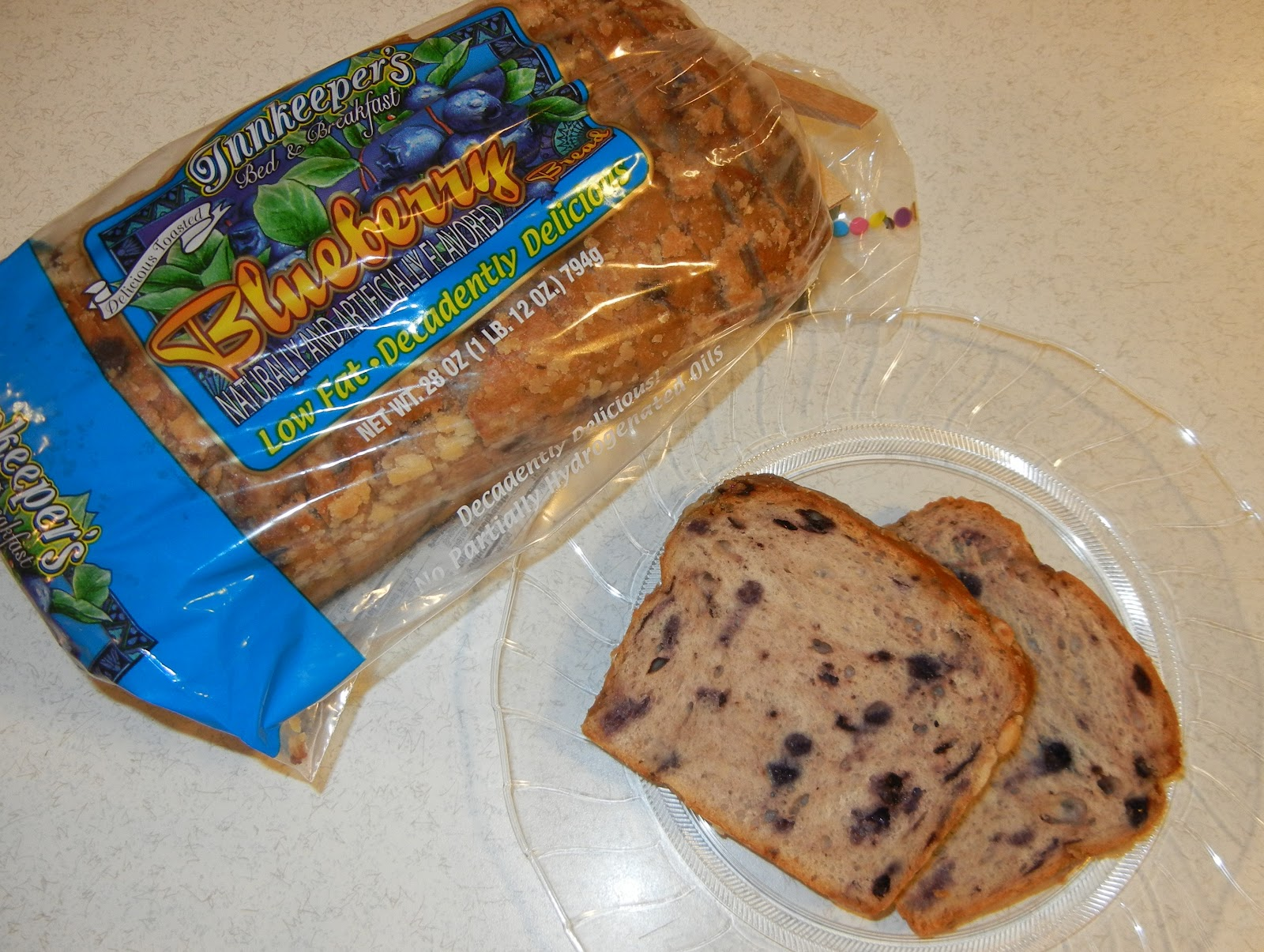 Not Your Typical Trophy Wife: Coscto Alert - Blueberry Bread