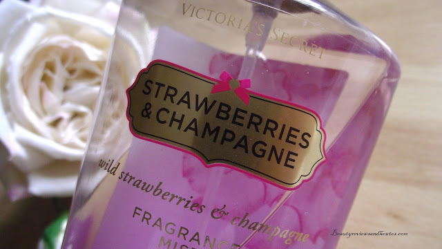 Victoria's Secret Strawberries & Champagne Fragrance Mist Review