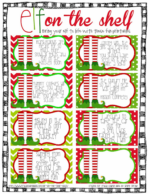 http://www.teachersnotebook.com/product/Simplysprout/freebie-elf-on-the-shelf-cards