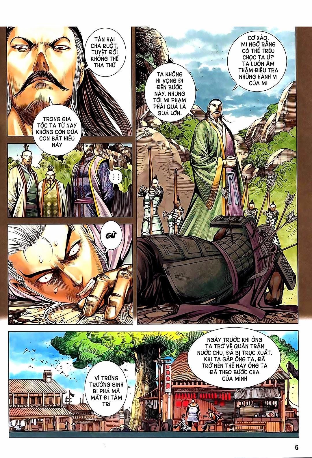 Phong Thần Ký Chap 182 - Trang 6