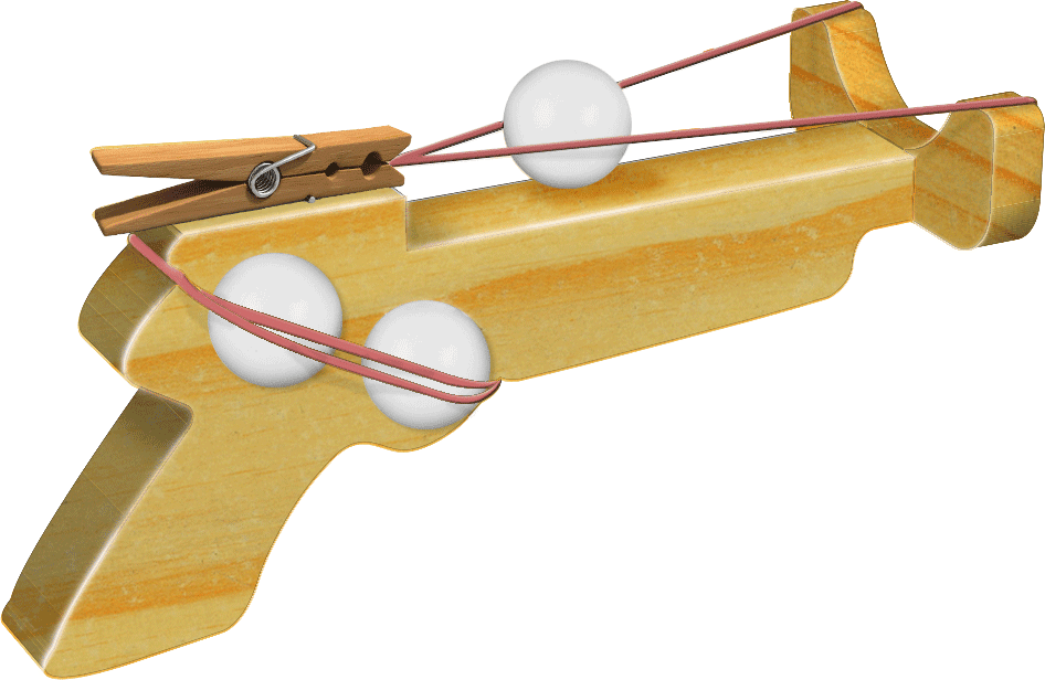 Sherwood Creations: Ping Pong Gun Patterns