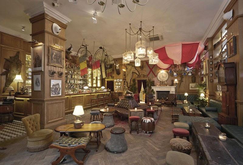 mejores diseños de interiores de bares y restaurantes del mundo, Mr Fogg's