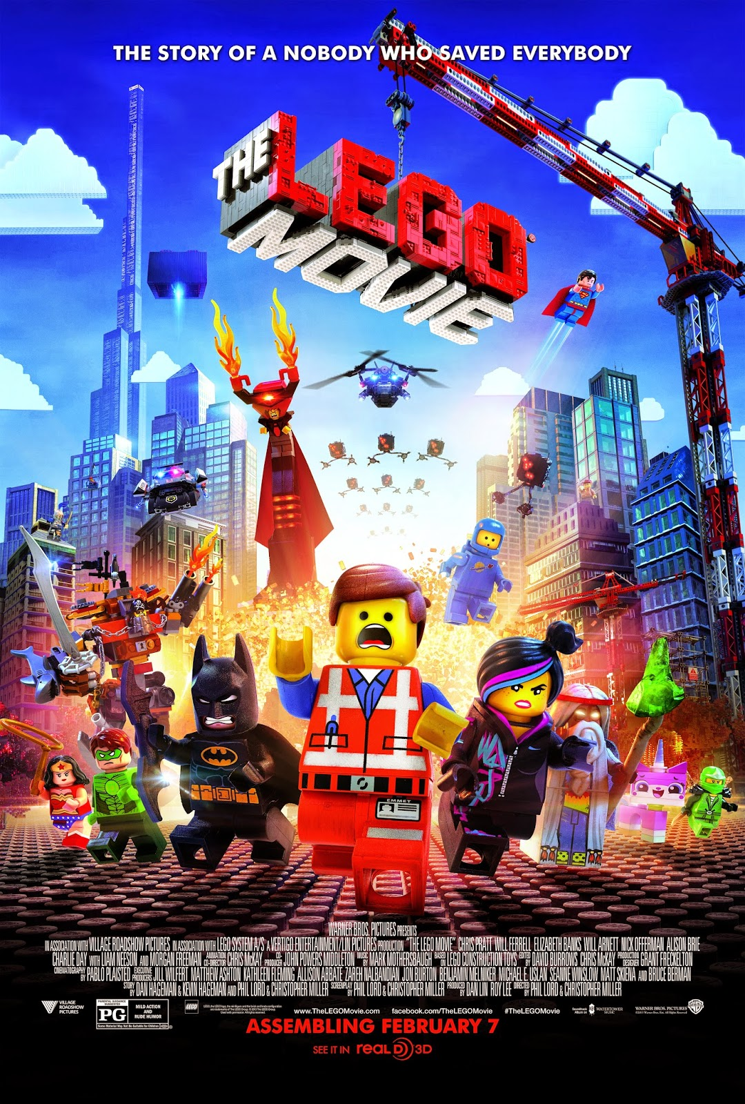 'LEGO Movie' is a spectacularly built animated feature