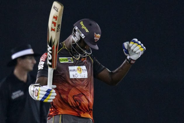 Thisara-Perera-Trinidad-and-Tobago-vs-Sunrisers-Hyderabad-M7-CLT20-2013