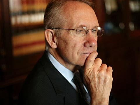Senate majority leader Harry Reid of Nevada