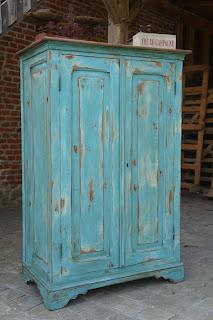 armoire-parisienne-deux-portes-patinée-turquoise-vieilli-nord-lille-valenciennes