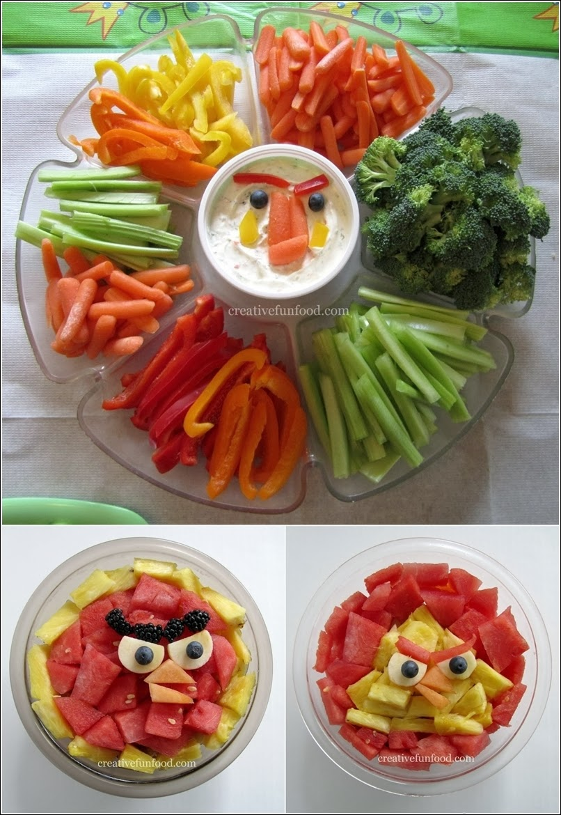 Creative Salad Decoration of Creativity And Decorate