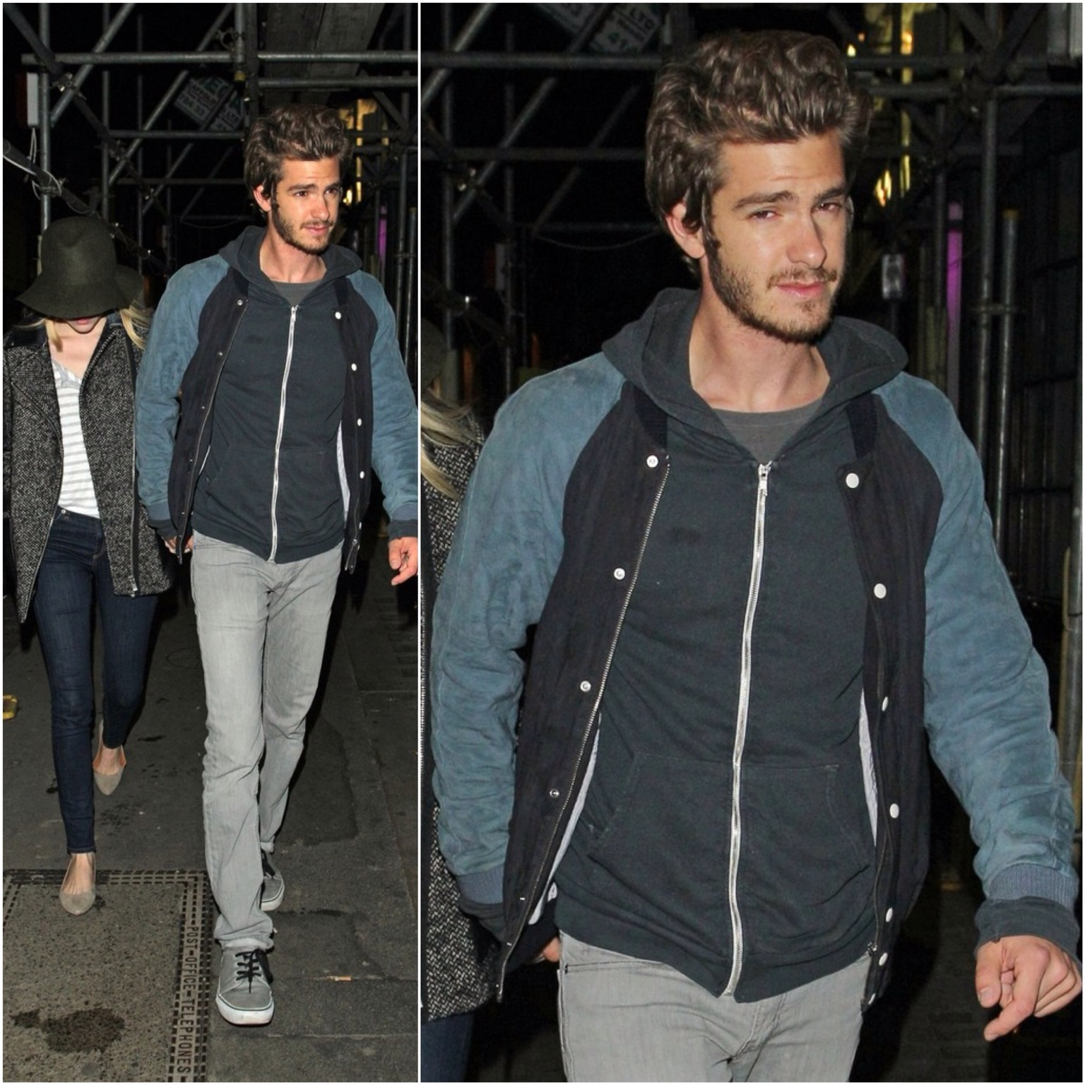 00O00 London Menswear Blog Celebrity Style Andrew Garfield Band Of Outsiders Emma Stone London