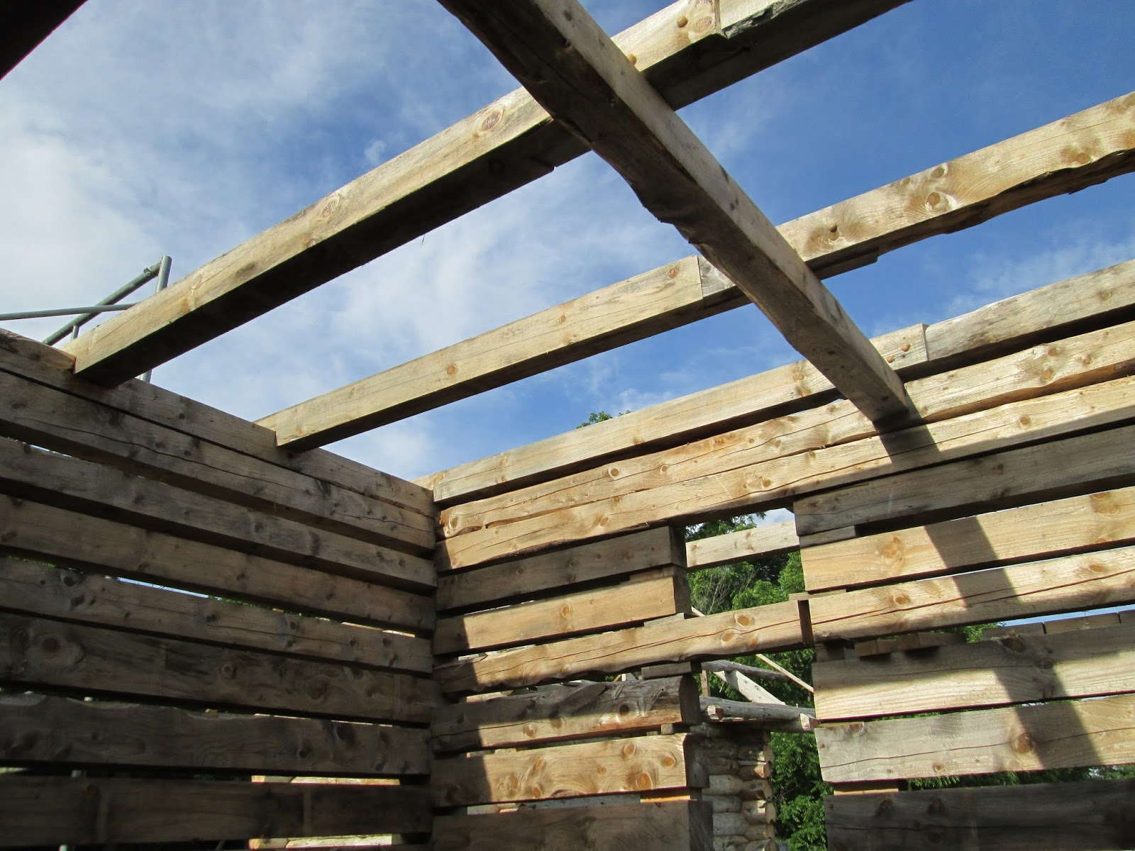 Bridges to the future beam supports for loft rafters for Rafter beam