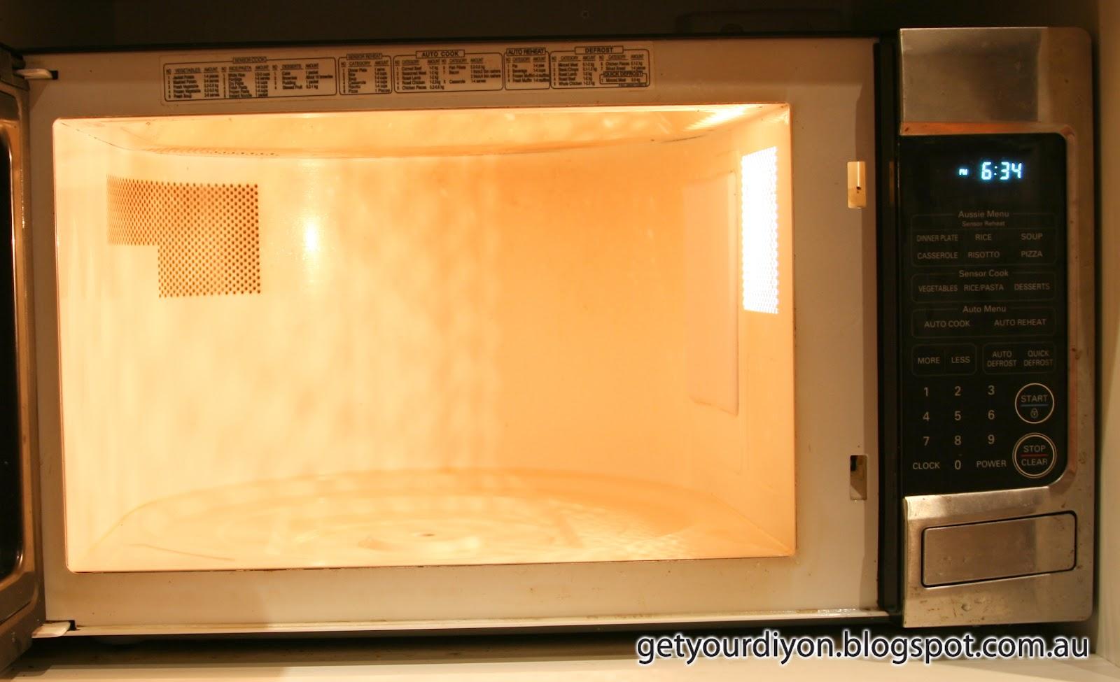 how to open a microwave door that is broken
