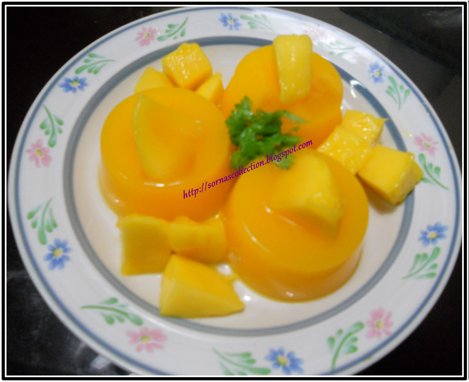 Cold Thai-Style Mango Coconut Soup With Mango Relish Recipe ...