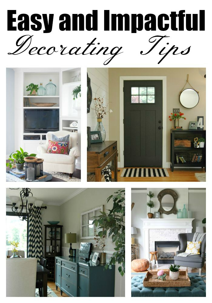 Tips On How To Decorate Your Home | 5 Easy And Impactful Decorating Tips Little House Of Four