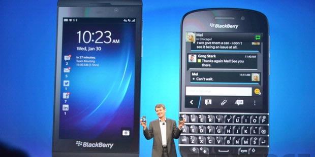 Gambar Dan Spesifikasi Blackberry Q10 Dan Blackberry Z10