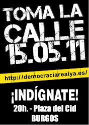 Democracia Real Ya! Burgos