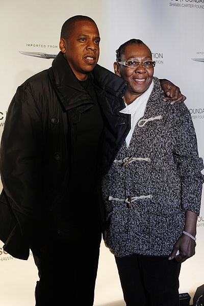Jay Z Mother and Sister http://2or3lines.blogspot.com/2012/12/jay-z-december-4th-2003.html